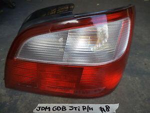 SUBARU JDM IMPREZA GDB STI WRX genuine tail light drivers R/H side sec/h #8
