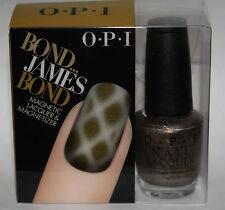 OPI JAMES BOND Magnetic Nail Lacquer Polish & Magnetizer JAMES BOND .5 oz