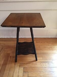 Amazing Image Is Loading Antique Spindle Leg Victorian Wood 2 Tier Side