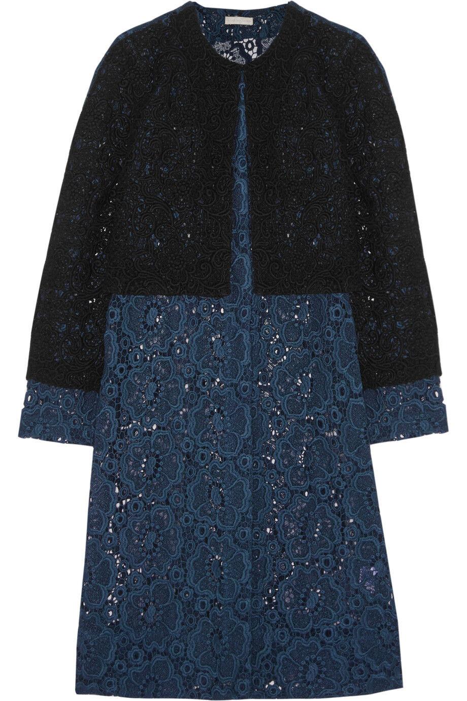 Michael Van Van Van Der Ham Louise Layerot Guipure Lace Coat Blau Größe UK 6 Box46 89 G | Offizielle Webseite  | Wirtschaftlich und praktisch  | Erlesene Materialien  | Verschiedene Stile und Stile  | Bestellung willkommen  cd33c9
