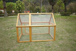 RUN FOR 600/1000 CHICKEN COOP RUN HEN HOUSE POULTRY ARK HOME NEST BOX COUP COOPS