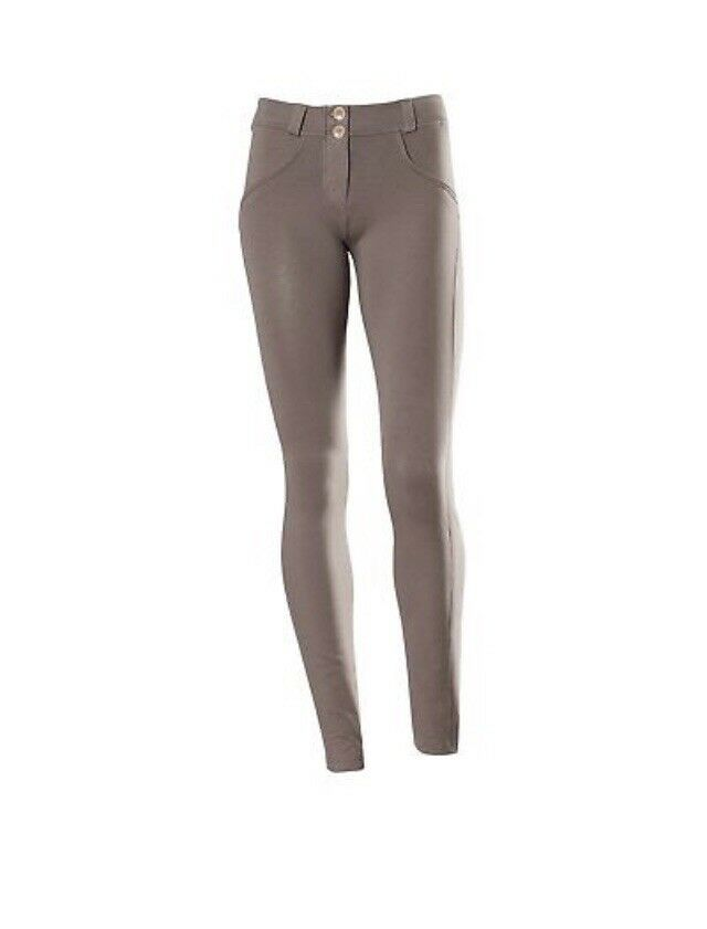 Freddy WR.UP Shaping Effect Beige Skinny Low Waist Pants - Size L   Large - New