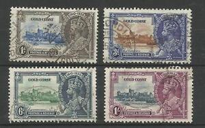 GOLD-COAST-1935-GV-SILVER-JUBILEE-SET-FINE-USED-CAT-70