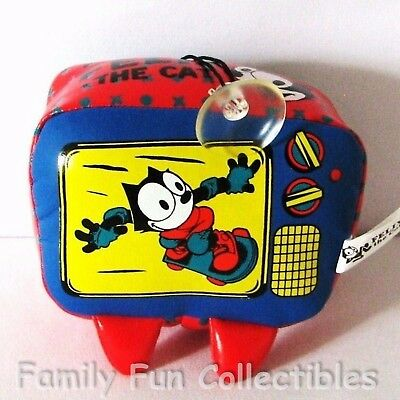 FELIX THE CAT~1990s Good Stuff~Hanging Novelty~TV~Suction Cup Arcade Toy~NEW NOS