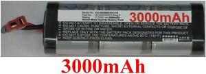 Batterie 7.2v 3000mah Type Sc3000/d37/t-plug F Pour Generic T-plug Awg14
