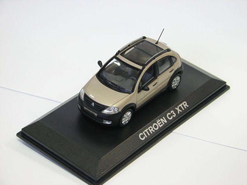 Citroen C3 XTR grey grey 155331 Norev 1 43 New in a box  RARE