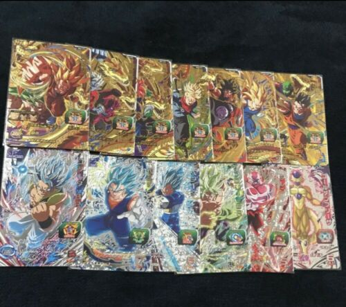 BM3-CP 7cards and BM3-DCP 6cards set Super Dragon Ball Heroes Card JAPAN