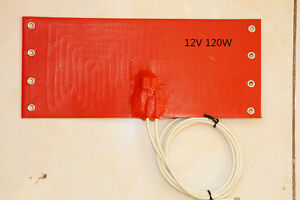 Silicone-Pad-for-Car-Fuel-Filter-100mm-X-235mm-120W-12V-120-Degree-C-1-PC