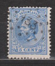 NVPH Netherlands Nederland 19 TOP CANCEL ZUTPHEN (133) Willem III 1872