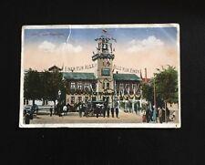 Postkarte Libau Feuerturm Einer für alle