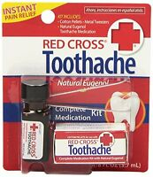 Red Cross Toothache Complete Medication Kit 0.12oz Each