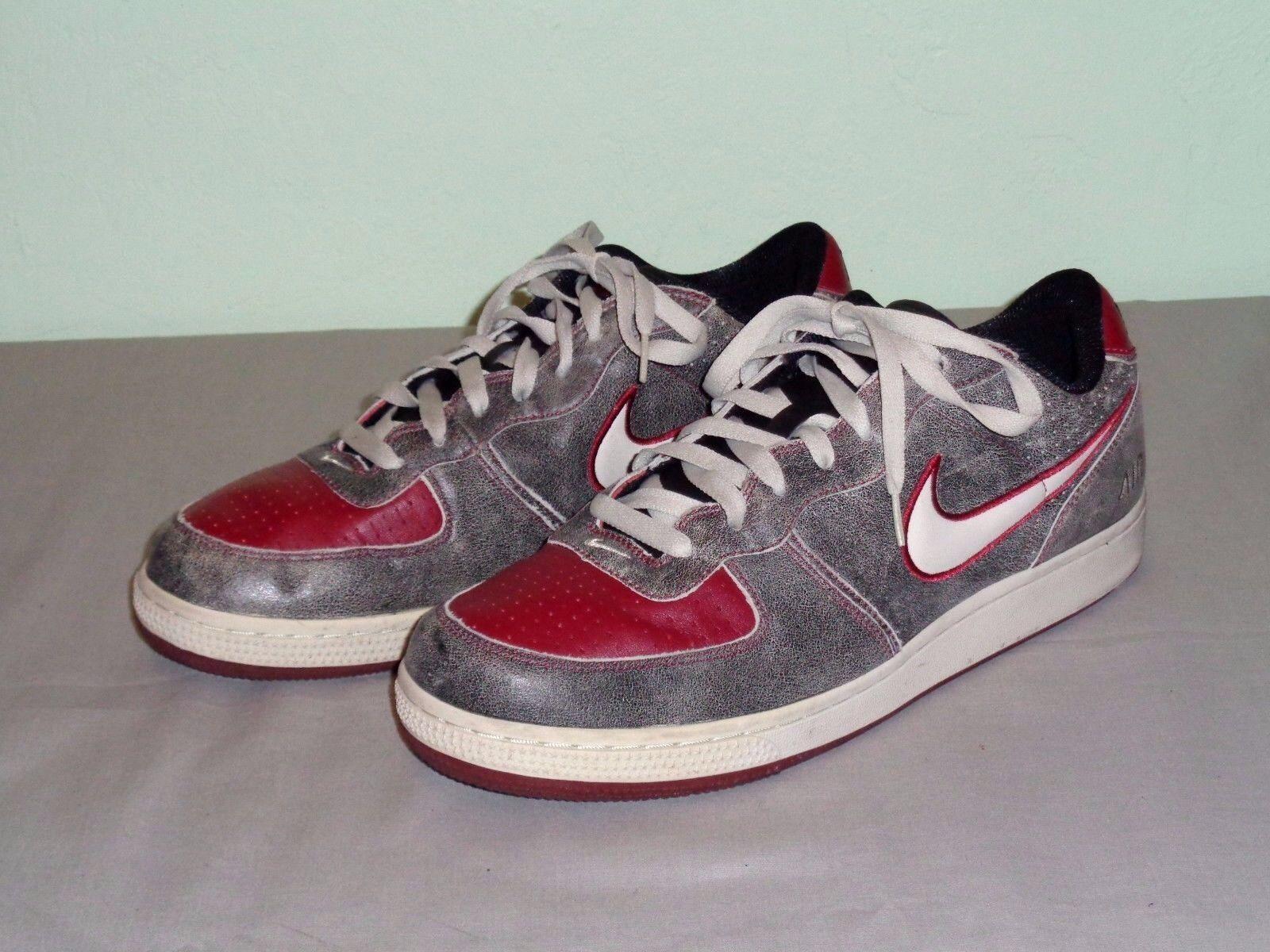 Nike Zoom Air Low rojo retro infiltrado hombres negro rojo Low 311191-0tamaño de hueso bf93c9