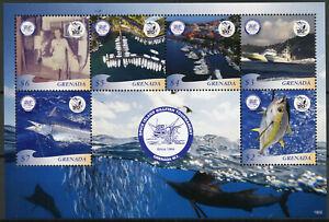 Grenade-2019-neuf-sans-charniere-Spice-Island-Orphie-Tournoi-6-V-M-S-Bateaux-de-peche-timbres
