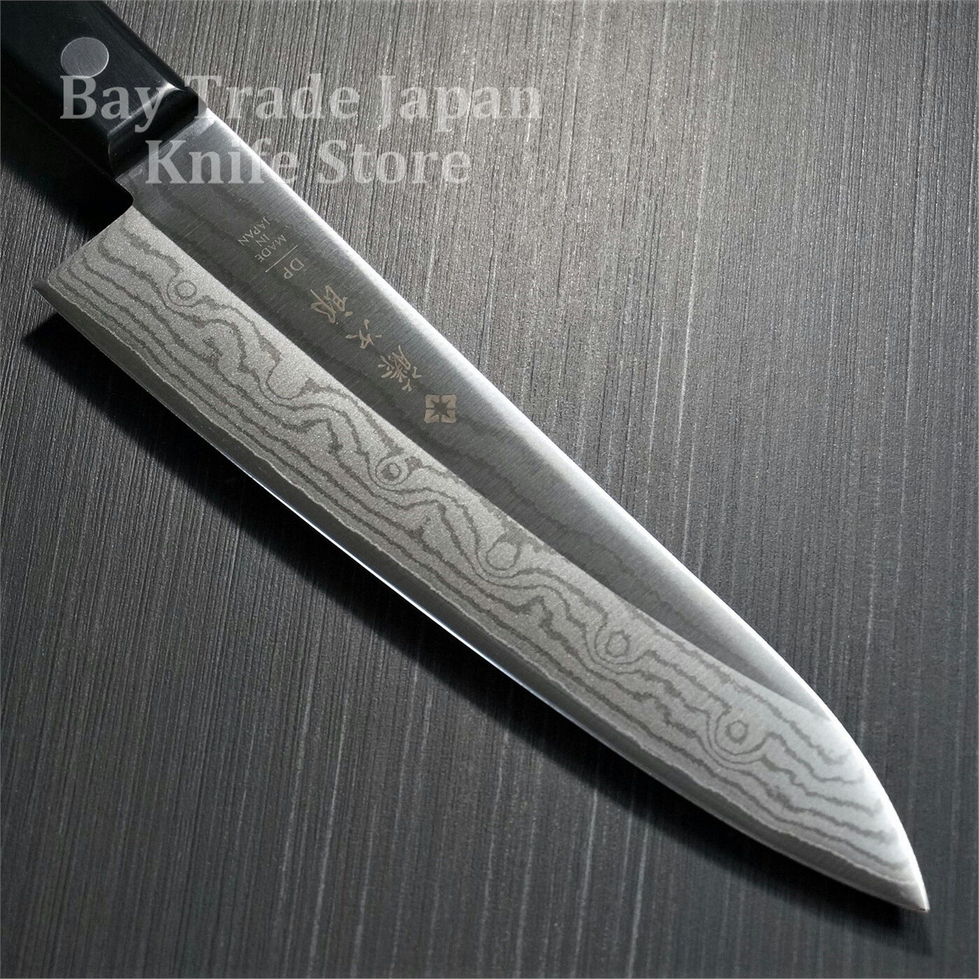 items in bay trade japan knife store store on ebay japanese tojiro dp damascus vg10 gyuto chef knife 180mm from japan f 332 kitchen