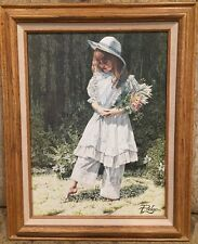 """Morning Bouquet by Melinda """"Pudge"""" Byers, Certified, Framed"""