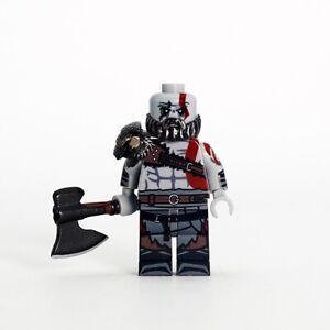 NEW-OUTSIDE-BRICK-Custom-God-Of-War-4-Kratos-Lego-Minifigure