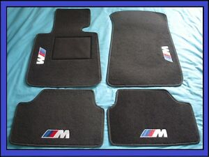 tapis qualit bmw s rie 1 3 5 6 7 8 m m3 m5 e32 e34 e36 e39 e90 e91 e92 e46 ebay. Black Bedroom Furniture Sets. Home Design Ideas
