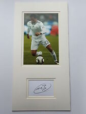 Patrice Evra France Hand Signed Photo Mount Display.