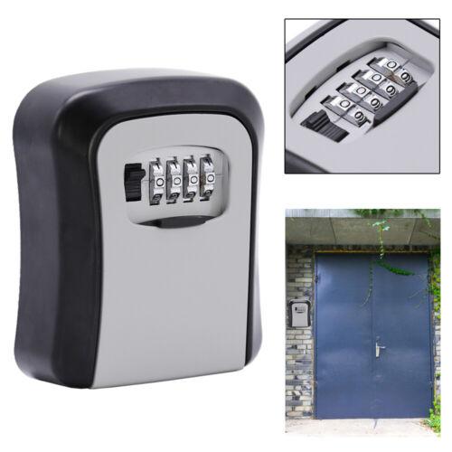 Schlüsselsafe Wandmontage Rostfrei Schlüsseltresor Haus Minitresor Keybox Schule