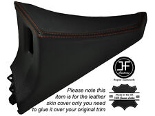 Cuciture color arancio 1x Passeggero Porta Interruttore Pannello copertura della pelle si adatta TOYOTA SUPRA MK4