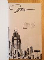 Signed - Jim Lee Batman Noir Hush HC Graphic Novel DC Comics New Unread + Pic
