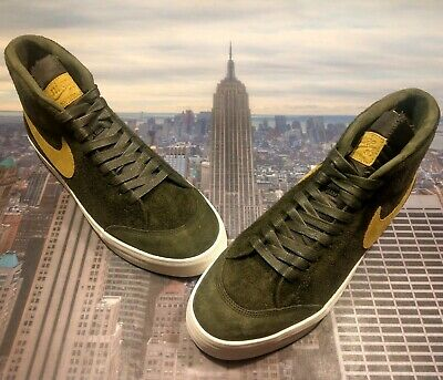 quality design 3d9d2 7fc99 Nike SB Zoom Blazer Mid QS x We Club 58 Sequoia/Gold Size 10 ...