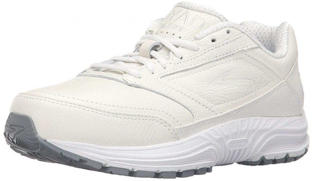 Brooks Women's Women's Women's Dyad Walker Walking Work Comfort Casual shoes Leather Cushion d59618