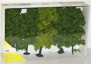 Heki-H0-Tt-N-1990-Deciduous-Trees-5-Piece-18-CM-New-Boxed