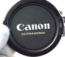 Genuine Canon Ultrasonic Lens Cap E-58 58mm EOS EF EF-S 18-55mm 28-90mm 28-80mm