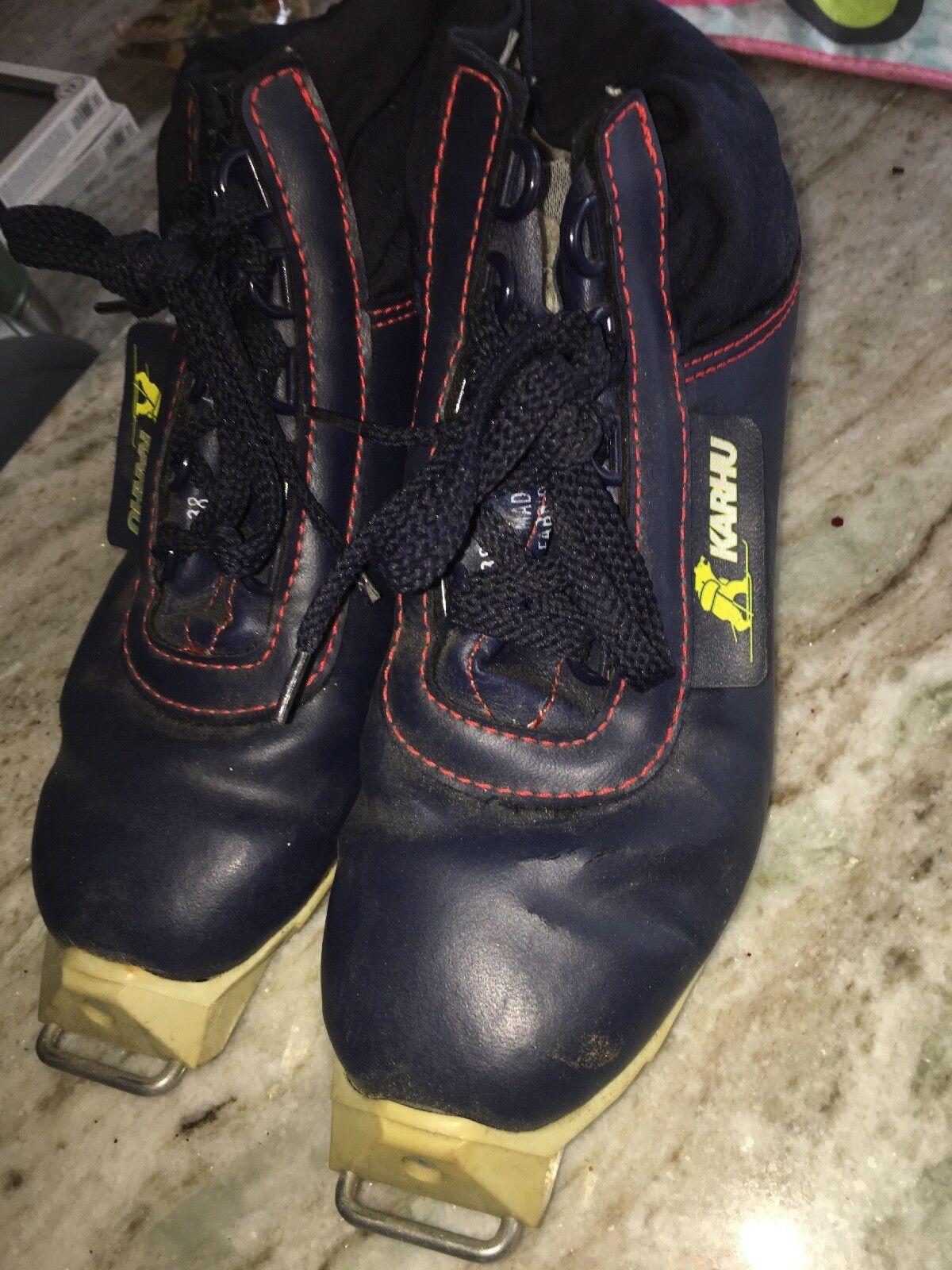 Cross Country Ski Boots SNS Size 38 Karhu XC