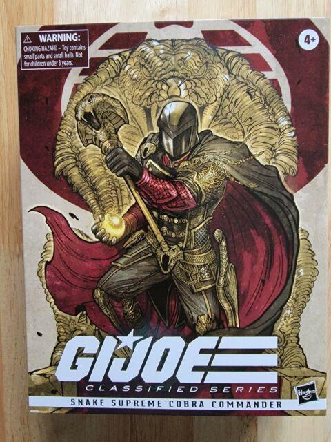 "GI Joe Classified Series 6"" Snake Supreme Cobra Commander"