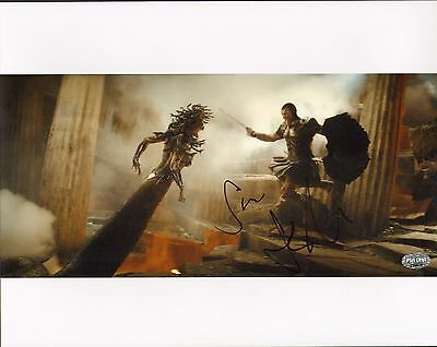 Movies Sam Worthington Signed Clash Of Titans 11x14 Photo Psa/dna Coa Picture Autograph