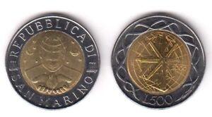 2000 San Marino Lire 500 Bimetallica Il Lavoro Fior Di Conio Unc Rara Nlbcmqqx-07233541-473653215