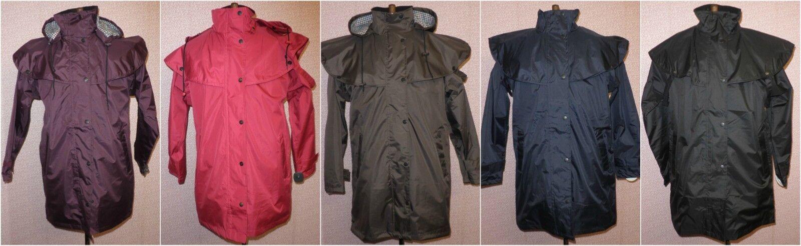Ladies TENUTA DI CAMPAGNA Windsor 34 lunghezza cappotto impermeabile varie taglie e Coloreeei