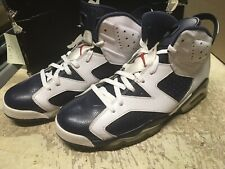the best attitude 9b3a7 a4e57 item 1 USED MENS NIKE AIR JORDAN VI 6 OLYMPIC 2012 EDITION 384664 130 Sz  11.5 FREE SHIP -USED MENS NIKE AIR JORDAN VI 6 OLYMPIC 2012 EDITION 384664  130 Sz ...