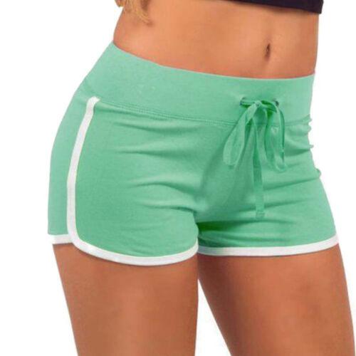 Womens Yoga Shorts Summer Casual Beach Sports Slim Gym Running Workout Hot Pants