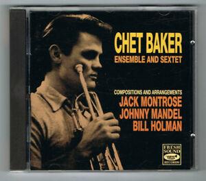 ♫ - CHET BAKER ENSEMBLE & SEXTET - 1991 - CD 17 TITRES - TRÈS BON ÉTAT - ♫