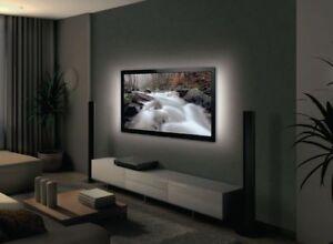 Retro illuminazione led usb kit pc tv strisce da cm colore