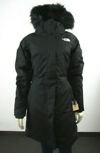 NWT-Womens-The-North-Face-TNF-Arctic-Parka-2-Down-Warm-Winter-Jacket-Black