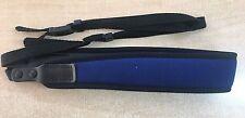 Neoprene Binocular Strap - Blue