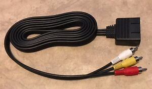 A-V-Composite-video-Cable-for-Atari-Jaguar-system-6-039-length-NEW
