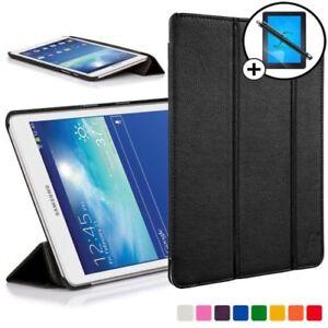 Samsung-Galaxy-Tab-3-LITE-7-0-Piel-Inteligente-Funda-con-Soporte-scrn-PROTECTOR