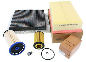 Original-VW-Audi-Inspektionskit-A3-Golf-7-Passat-1-6-2-0-TDI-Filterpaket-Ol-Luft