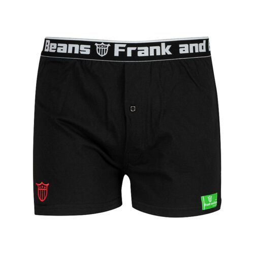 CT 1 x Pack Frank and Beans Boxer Shorts Mens Underwear Cotton S M L XL XXL CT02