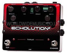 Pigtronix echolution 2-Programmable Multi-Tap effetto pedale modulation delay