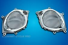 Kuryakyn LED Lighted Chrome Speaker Grills for Honda Goldwing GL1800 '06+ (3920)