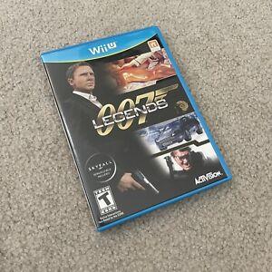 007 Legends (Nintendo Wii U, 2012) Complete CIB Tested working EUC