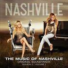 Music of Nashville: Season 2, Vol.1 [Deluxe Edition] by Nashville Cast (CD, Feb-2014, Lionsgate)