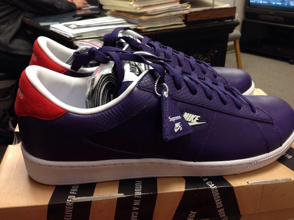 Nike Supreme Tennis Classic Sb Ds 13 Dunk Af1 20th Taxi Max Moon Air Kobe Box XL Seasonal price cuts, discount benefits