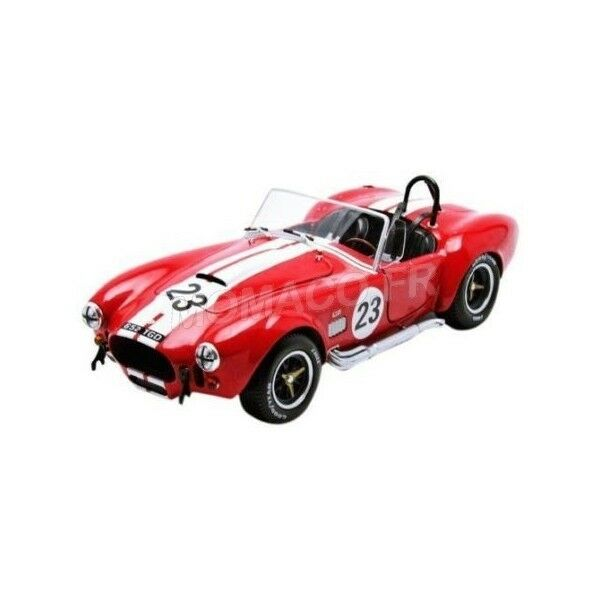 SOLIDO 1850010 - SHELBY COBRA 427 23 1965 ROUGE  1 18